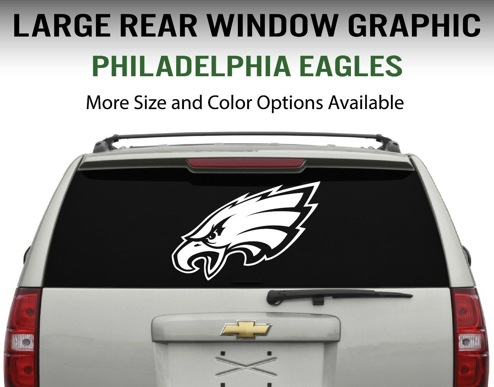 Best Philadelphia Eagles Window Decal Graphic Sticker Car Truck This Month