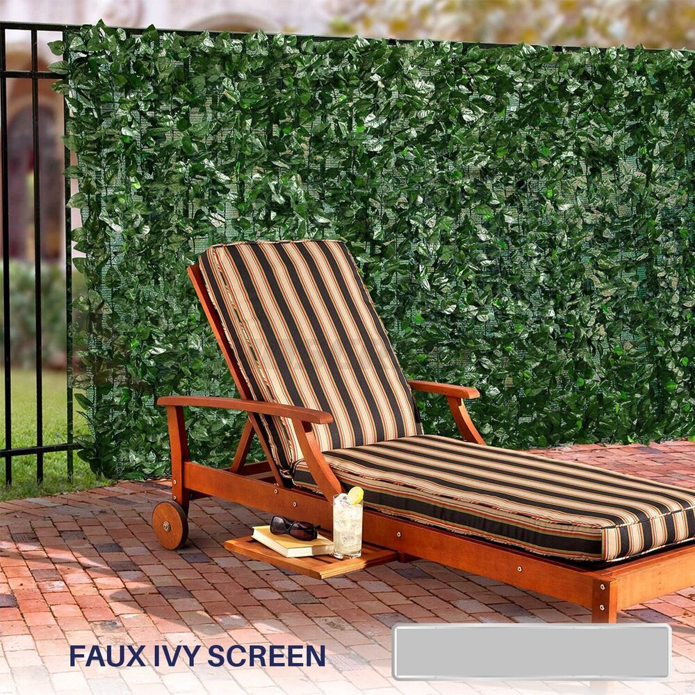Best 72 H Artificial Faux Ivy Leaf Privacy Fence Screen Décor This Month