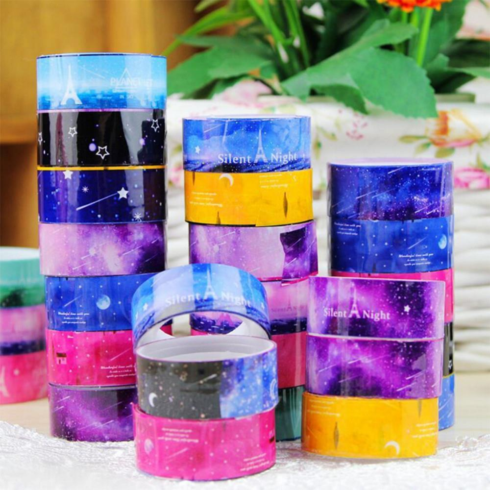 Best 10 Pcs Set Diy Decor Starry Roll Sticker Masking Tape This Month