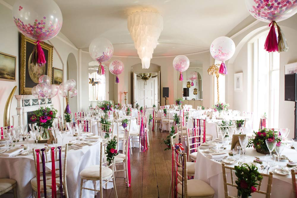 Best Wedding Balloon Decoration Ideas For The Ceremony And The This Month