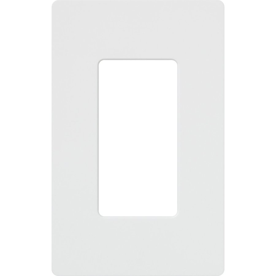 Best Shop Lutron Claro 1 Gang White Single Decorator Wall Plate This Month