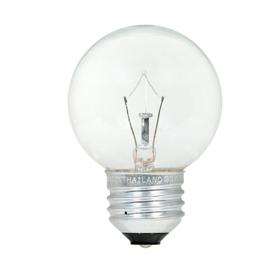 Best Sylvania 60 Watt Dimmable G16 5 Decorative Incandescent This Month