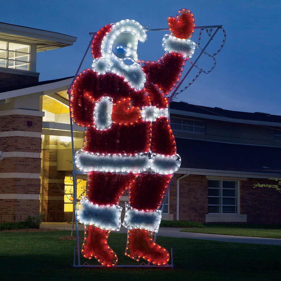 Best Holiday Lighting Specialists 17 Ft Animated Waving Santa This Month