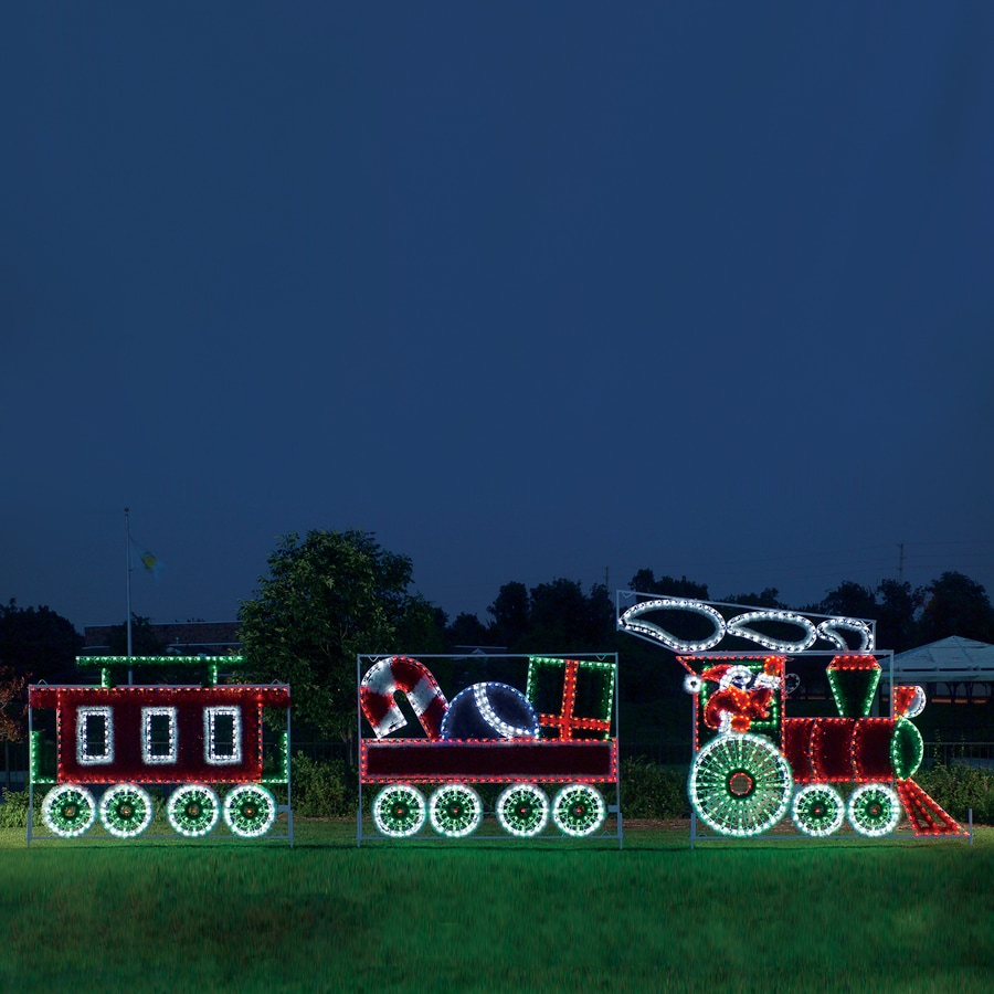 Best Shop Holiday Lighting Specialists 10 Ft Animated Santa S This Month