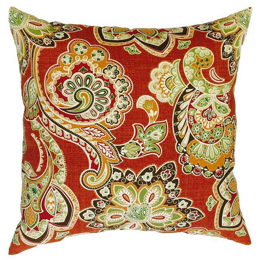 Best Allen Roth Floral Square Throw Outdoor Decorative Pillow This Month