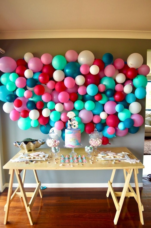 Best What Are Some Simple Birthday Balloons Decoration Ideas At This Month