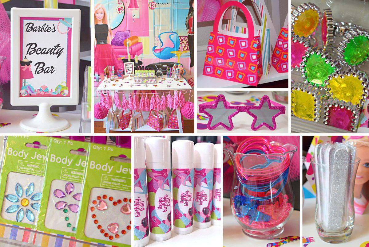 Best Barbie Party Ideas Glamour Party Ideas At Birthday In A Box This Month