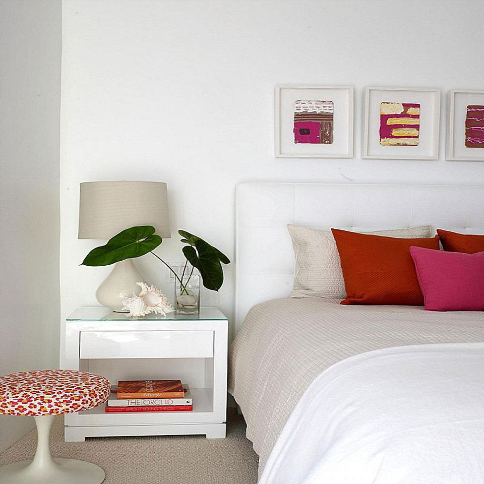 Best Decorating Bedrooms With White Walls This Month