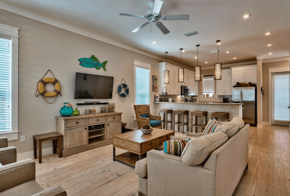 Best 20 Beautiful Beach House Living Room Ideas This Month