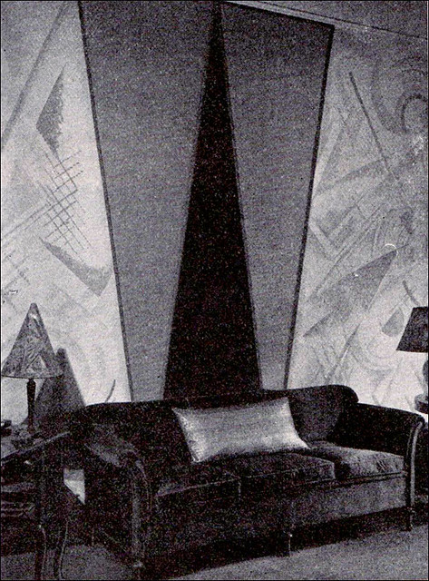 Best 1926 Early Art Deco Wall Treatment Flickr Photo Sharing This Month