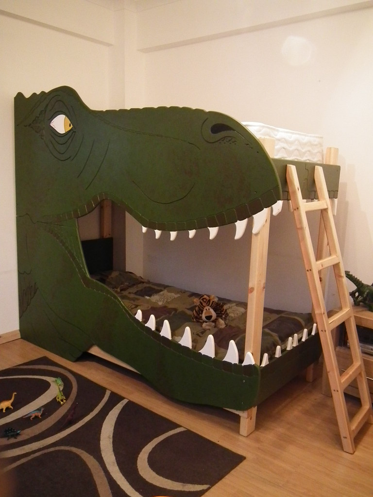 Best Dinosaur Bunk Bed T Rex Bunk Bed Made By Dreamcraft This Month