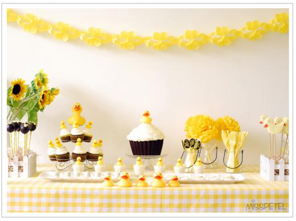 Best Kara S Party Ideas Yellow Ducky 2Nd Birthday Party Rubber This Month
