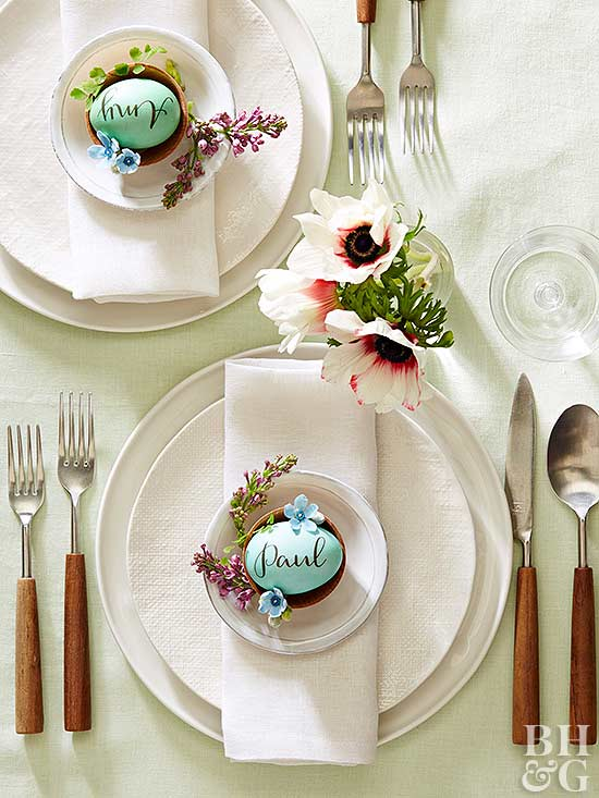 Best 40 Easy Easter Centerpieces And Table Settings Better This Month