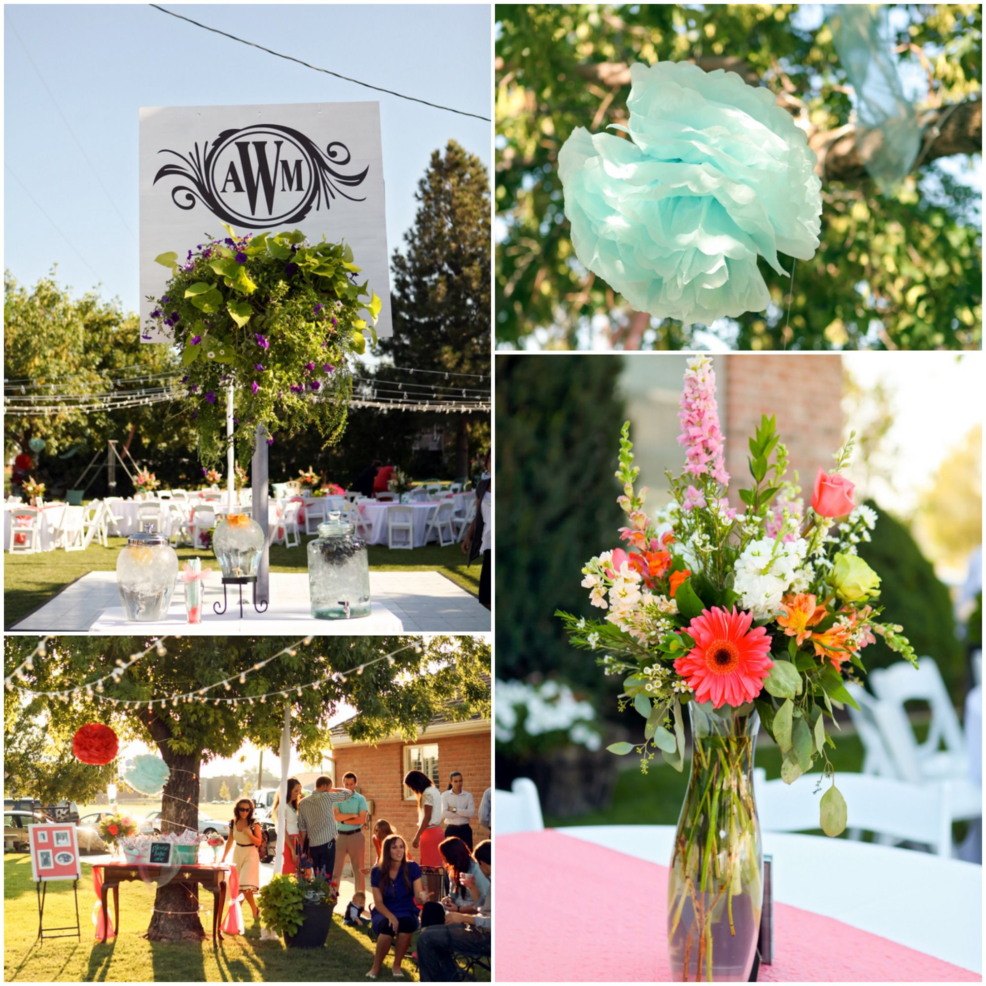 Best Bright And Colorful Backyard Wedding Rustic Wedding Chic This Month