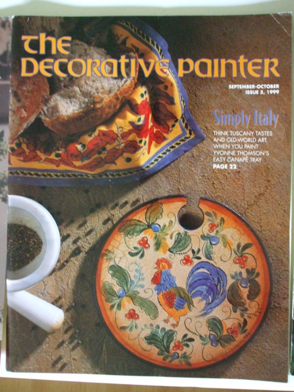 Best National Society Of Tole And Decorative Painters Magazine This Month