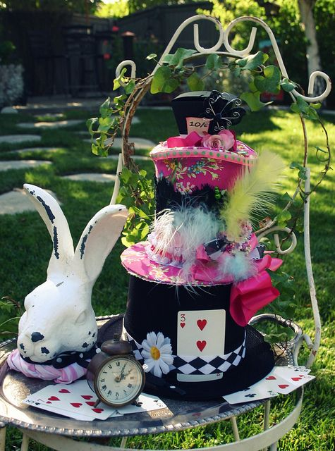 Best Party Decorations For Alice In Wonderland In The Garden This Month