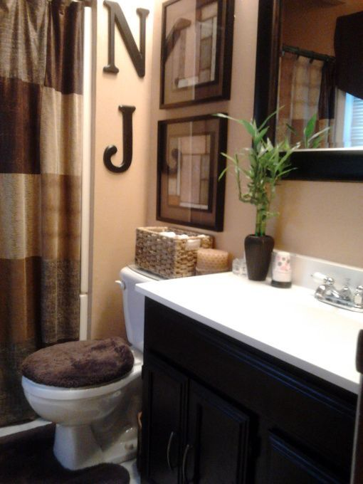 Best Possible Color Scheme For A Guest Bath Love The Shower This Month