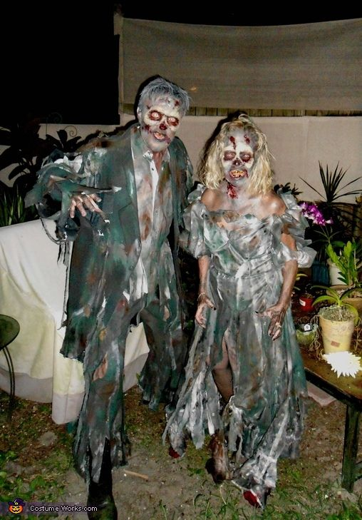 Best Zombie Couple Costume Homemade Halloween Zombie And This Month