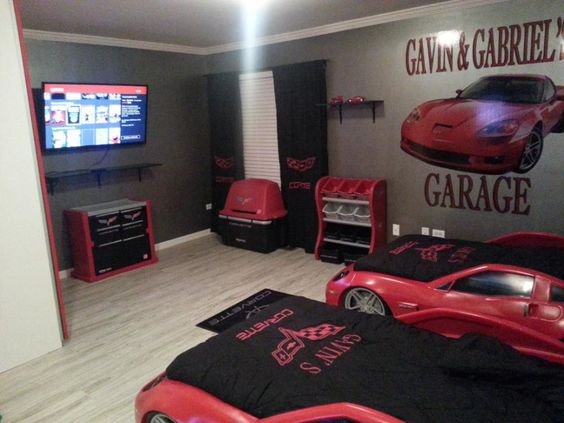 Best Car Themed Bedrooms Race Cars And Cars On Pinterest This Month
