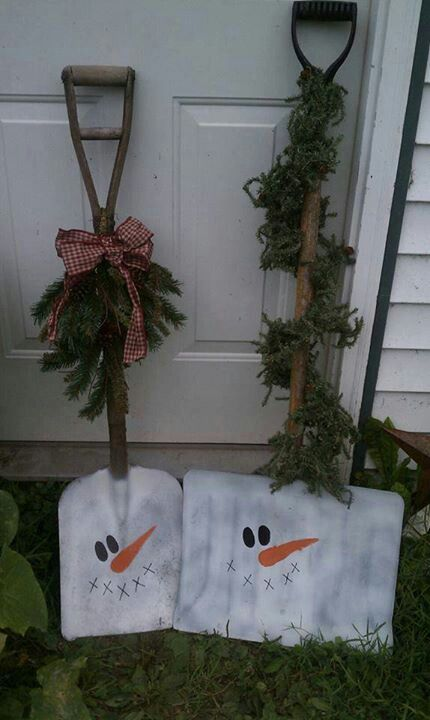 Best Shovel Snowman And Thrift Stores On Pinterest This Month