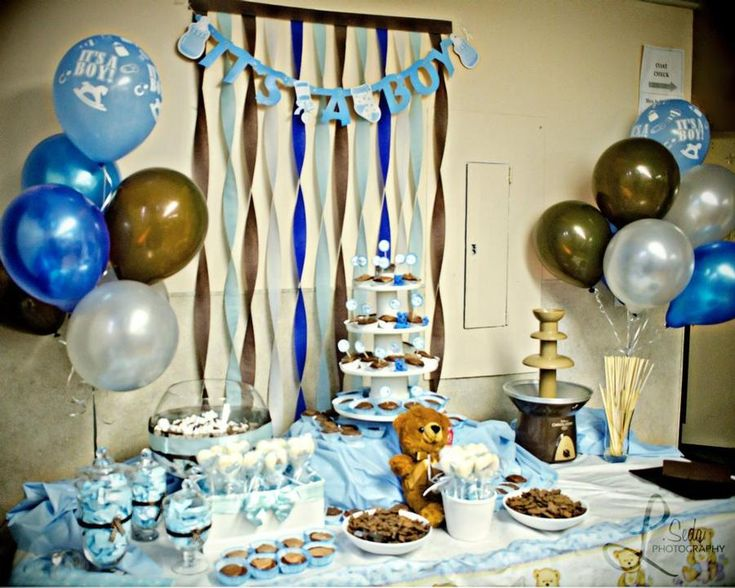 Best Teddy Bear Theme Decorations Baby Shower Pinterest This Month