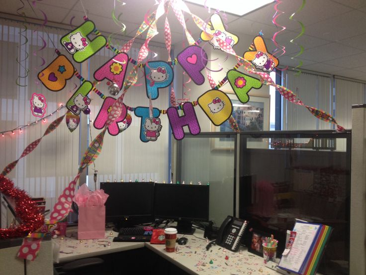 Best My Birthday Cubicle Hello Kitty Randomness Ideas This Month