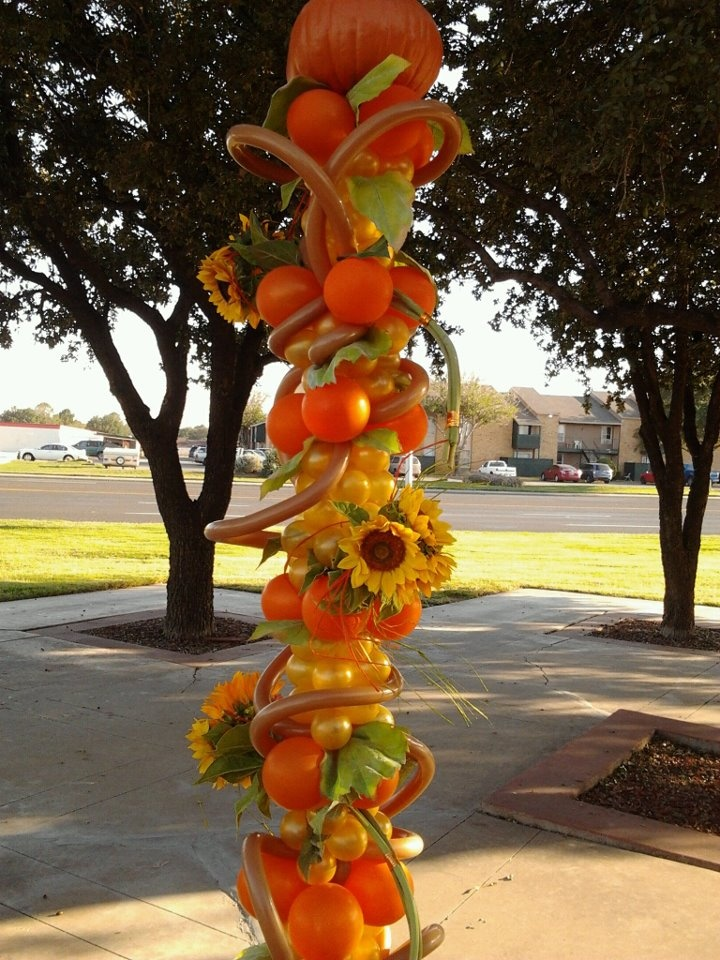 Best Fall Floral And Balloon Sculpture Balloons Pinterest This Month