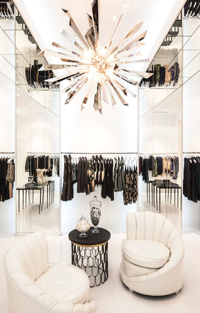 Best Kardashian Style Inside Their Glamorous Melrose Boutique This Month