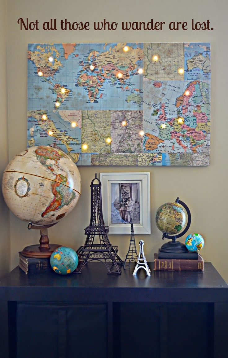 Best 17 Best Ideas About World Map Decor On Pinterest Travel This Month