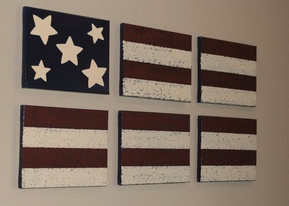 Best Americana Wall Decor Acrylic Paint On Canvas American This Month