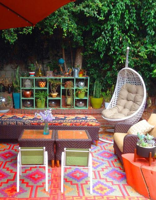 Best 25 Bohemian Patio Ideas On Pinterest Outdoor This Month