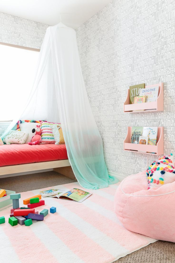 Best Emily Henderson Target Pillowfort Playroom Makeover Canopy This Month