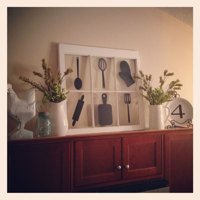 Best 25 Above Cabinet Decor Ideas On Pinterest Above This Month