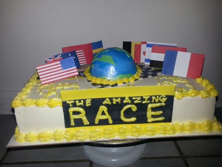 Best Amazing Race Cake Tasty Treats By Cindy Pinterest This Month