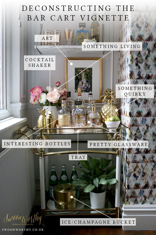 Best 25 Best Ideas About Bar Cart Decor On Pinterest This Month