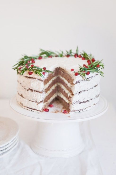 Best Gingerbread Christmas Wreath Cake Sweet Treats This Month