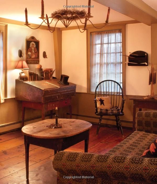 Best From Early American Country Interiors By Author Tim This Month