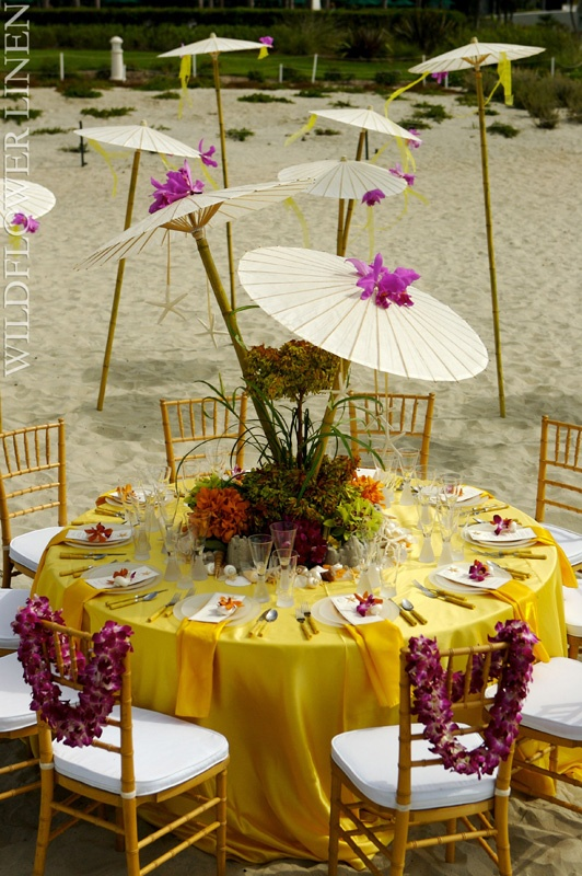 Best Yellow Hues On The Beach Creates A Perfect Tropical Feel This Month