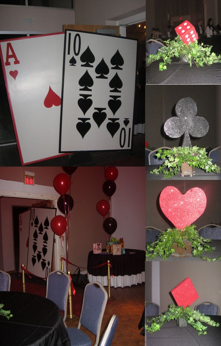 Best Diy Casino Party Decorations How To Make A Budget Diy This Month