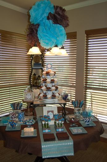 Best Birds Baby Shower Party Ideas Blue Brown Showers And This Month