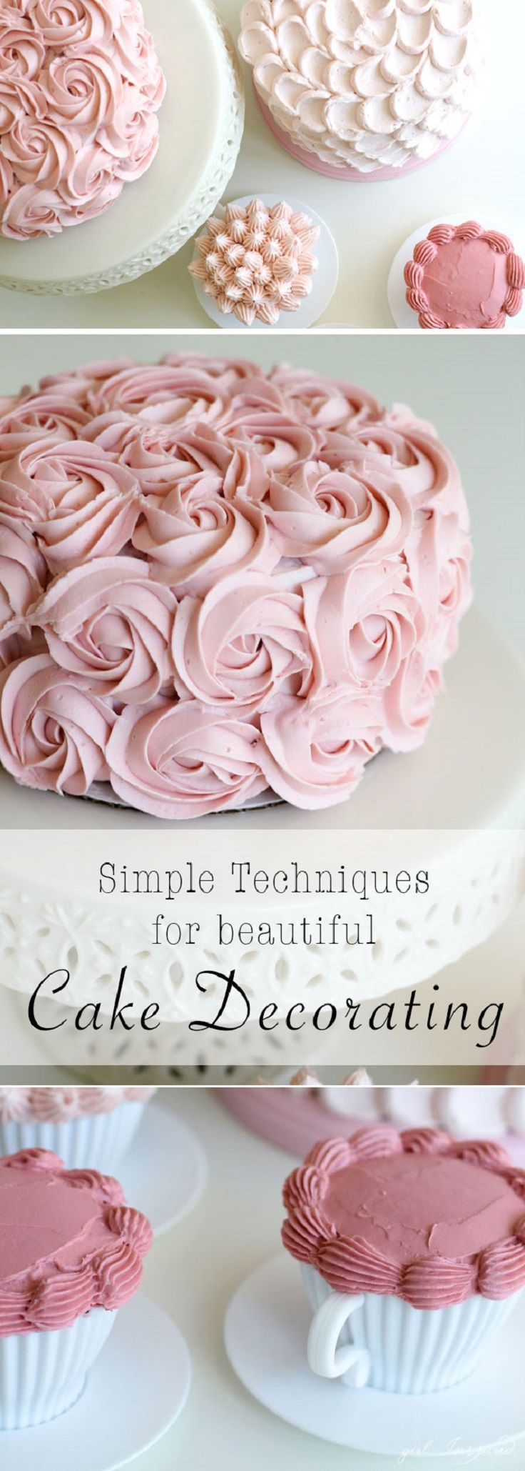 Best 25 Best Ideas About Simple Cake Decorating On Pinterest This Month