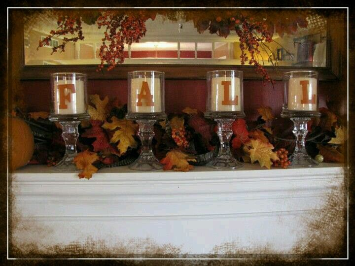 Best I Like The Way The Candle Holders Make It Taller Fall This Month