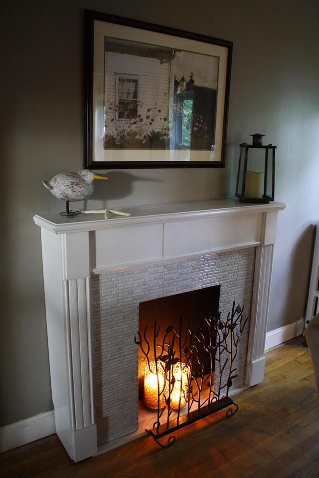 Best 141 Best Images About My Fake Fireplace On Pinterest This Month
