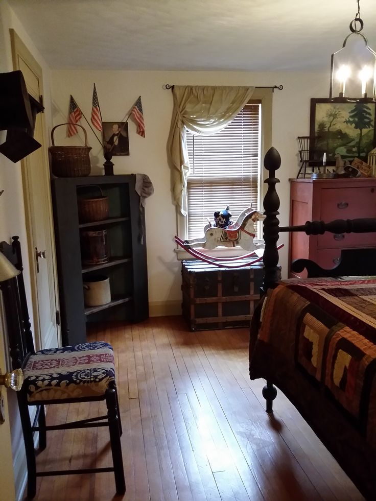 Best 17 Best Images About Primitive Colonial Bedrooms On This Month