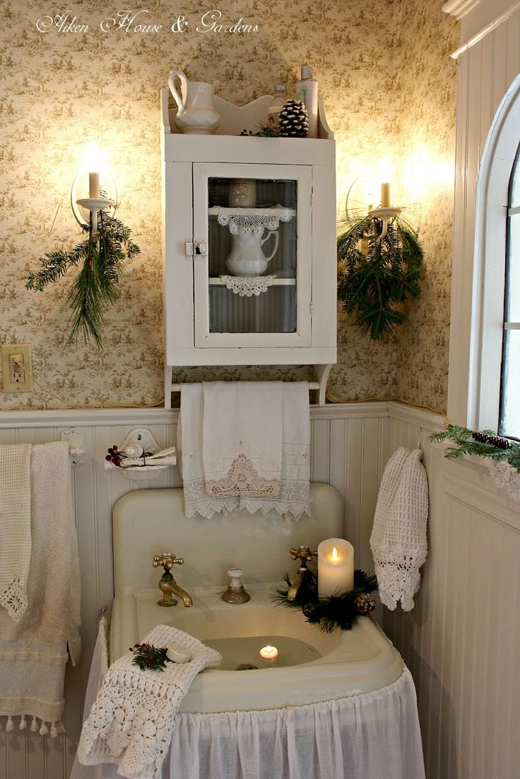 Best 616 Best Images About Shabby Chic Bathrooms On Pinterest This Month