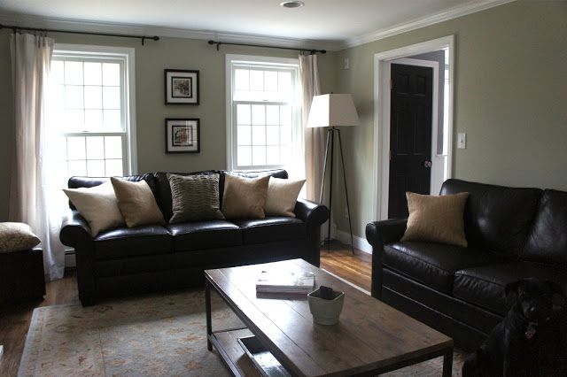 Best Decorating With Black Leather Couches My House This Month