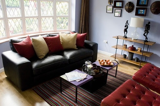 Best Black Leather Couch Decorating Idea Living Room This Month