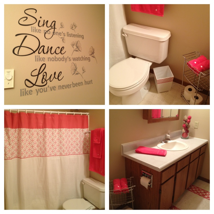 Best Cute Apartment Bathroom Love The Color Apartment Ideas This Month