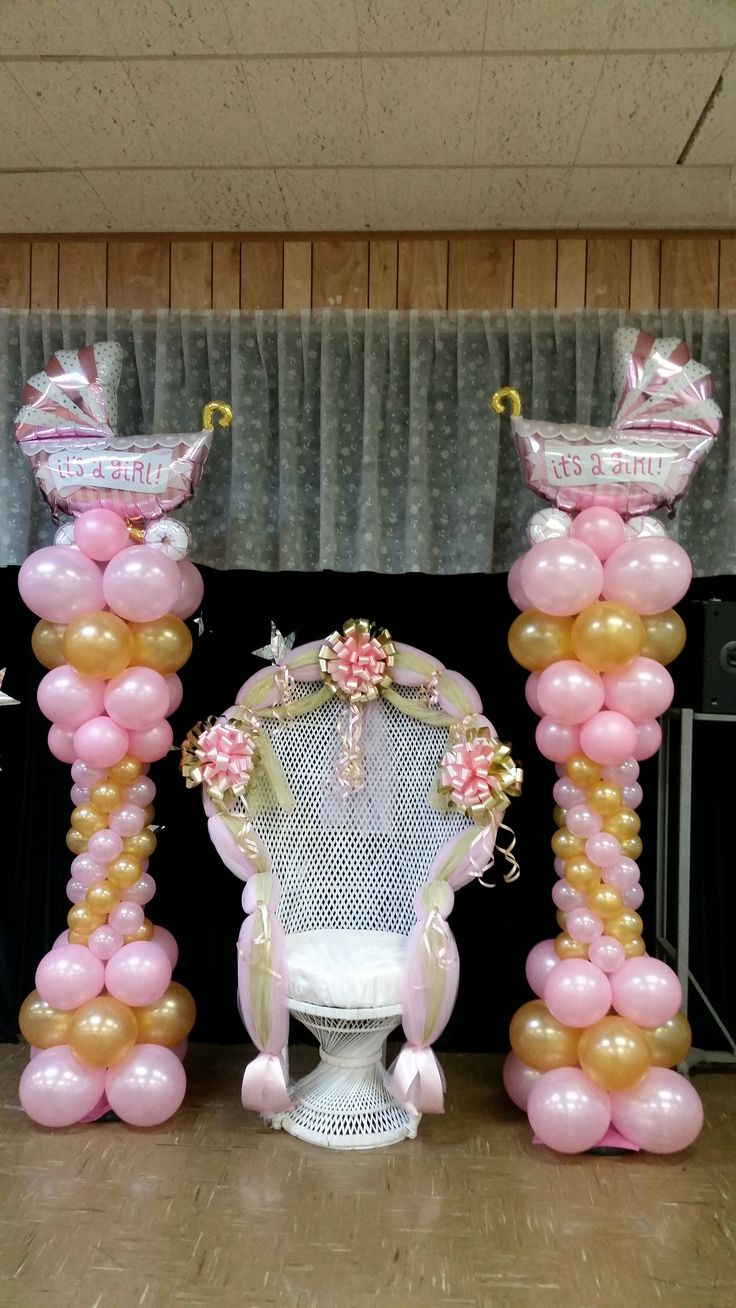 Best Baby Shower Chair And Balloon Columns Shower Chair This Month