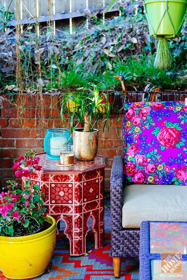 Best 25 Bohemian Patio Ideas On Pinterest This Month
